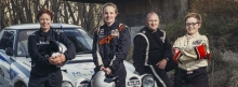 The Hudson family all co-drive for Motorsport New Zealand.