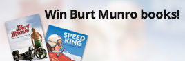 Promo tile 2 Win Burt Munro books