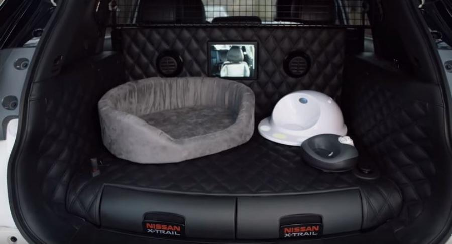nissan s new suv is pawfect for dog owners aa new zealand. Black Bedroom Furniture Sets. Home Design Ideas