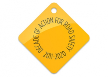 The symbol of the Decade of Action for Road Safety.