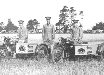 AA History - original patrols March 1928