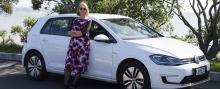Kathryn Webster is won over by the all-electric Volkswagen Golf.