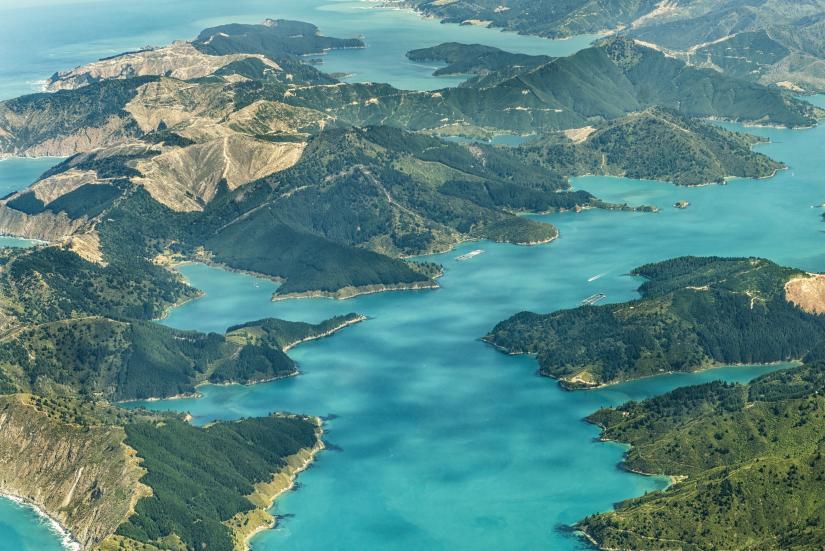 Marlborough Sounds Unspoilt Wilderness Aa New Zealand