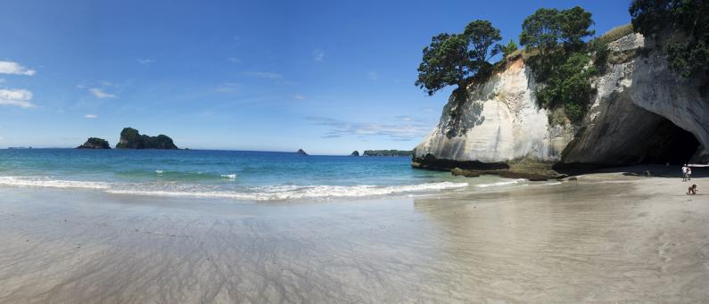 Whanganui a Hei Marine Reserve cathedral cove FEATURE