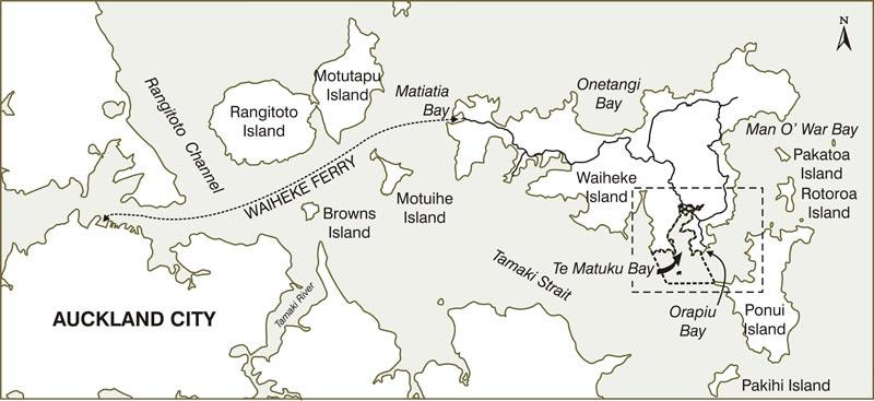 Te Matuku Marine Reserve AA New Zealand