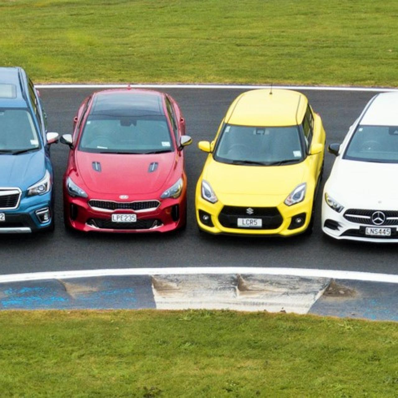 AA and Driven reveal top 10 contenders for New Zealand Car of the Year