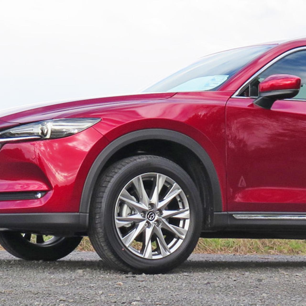 Mazda add the CX-8 to their award winning SUV lineup