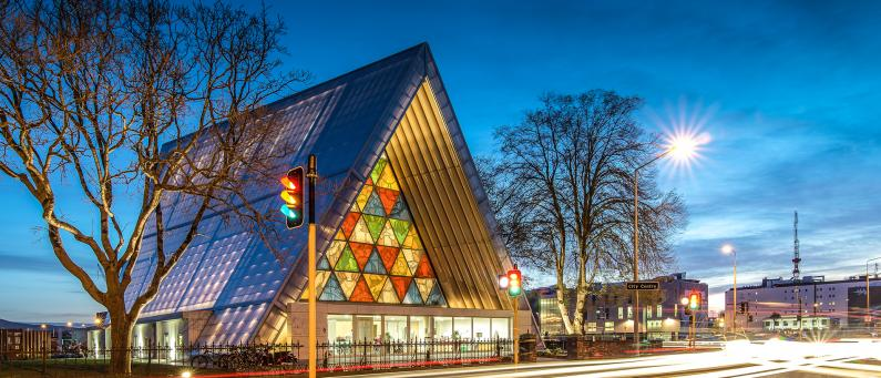Christchurch Cardboard Cathedral