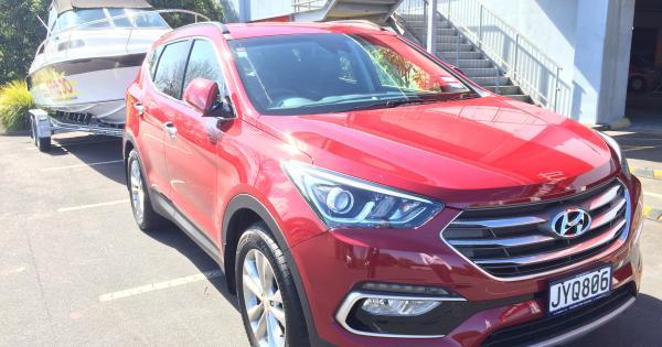 hyundai santa fe elite 2016 towing review | aa new zealand