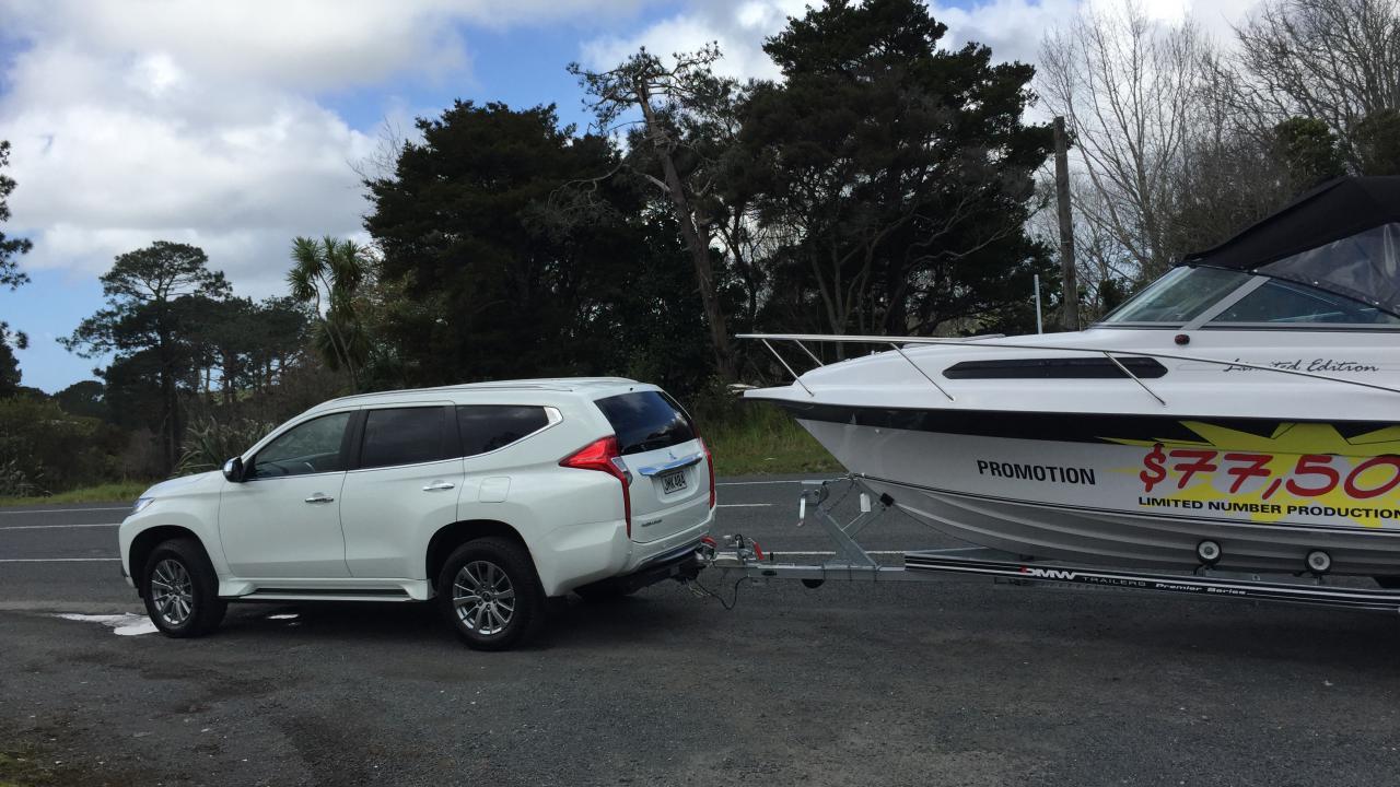 Mitsubishi Pajero Sport 2016 Towing Review | AA New Zealand