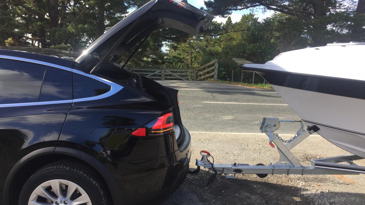 Tesla Model X 2018 Towing Review | AA New Zealand