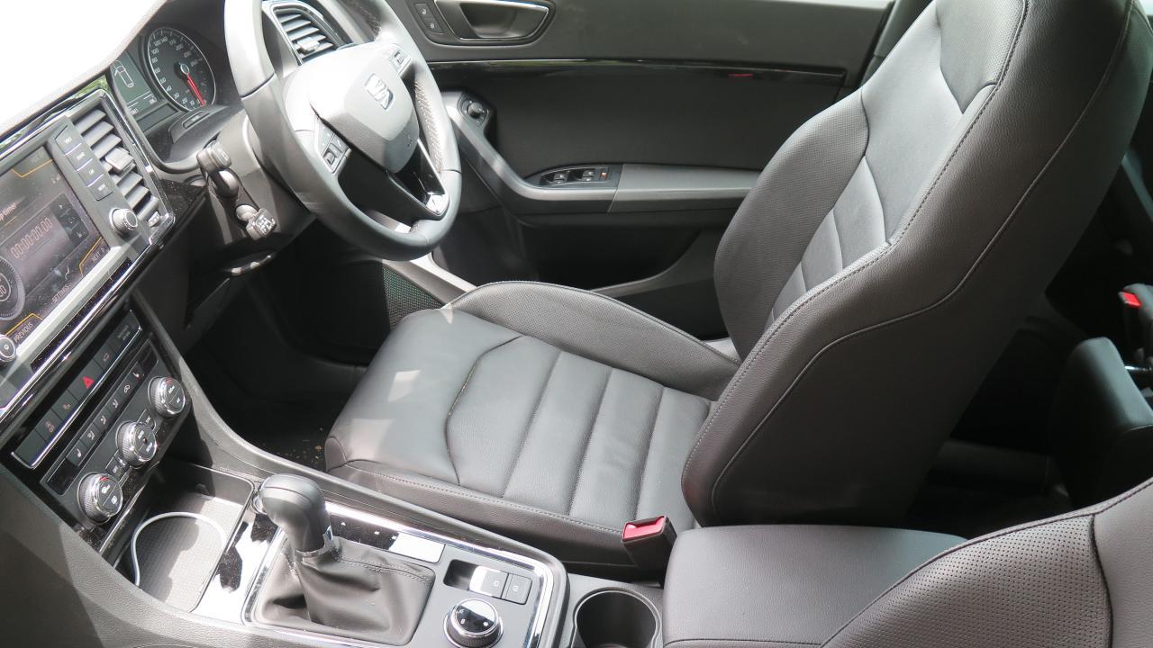 seat ateca 2018 interior