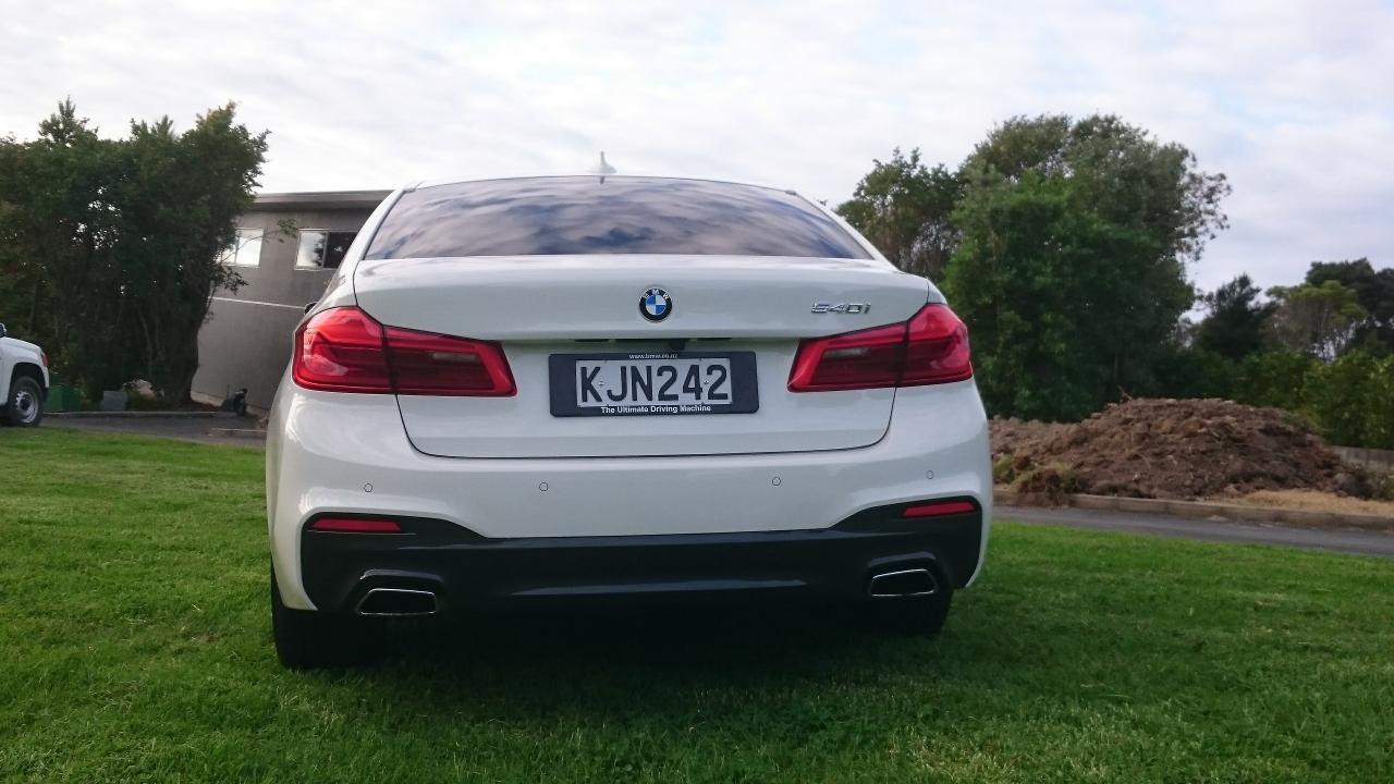 Bmw 5 Series Sedan 2017 Car Review Aa New Zealand Dsc 0216 0217 0219
