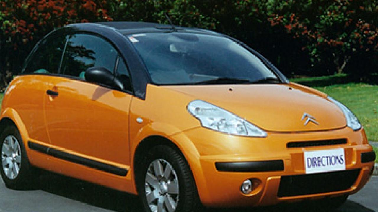 citroen c3 pluriel 2003 car review aa new zealand. Black Bedroom Furniture Sets. Home Design Ideas
