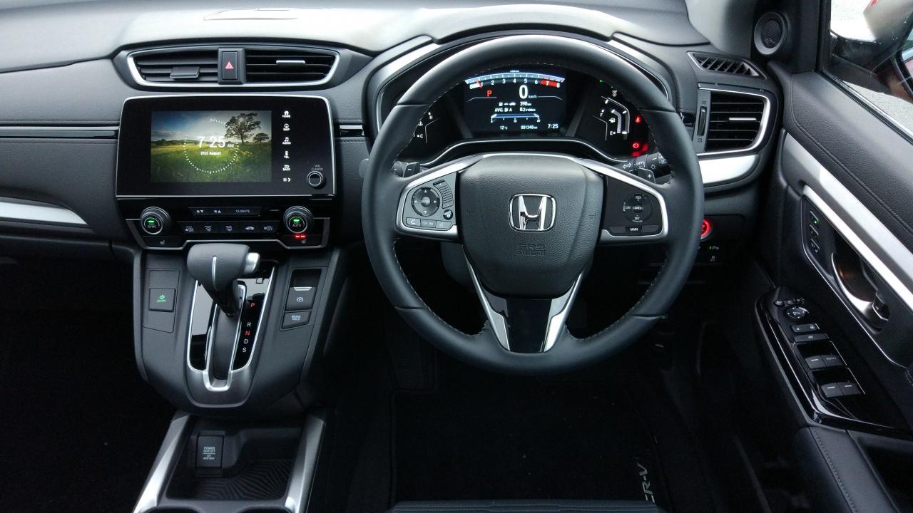 Honda Cr V 7 Seat 2018 Car Review Aa New Zealand