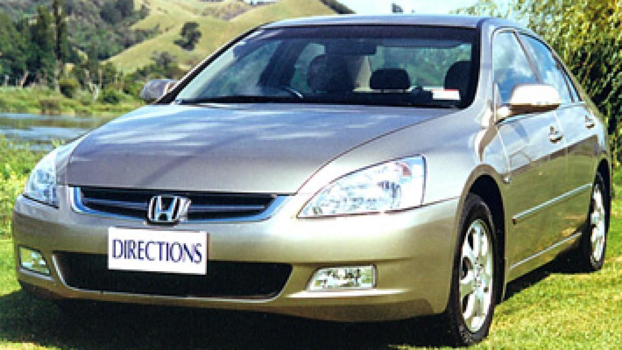 Honda Accord V6 2003 Car Review | AA New Zealand