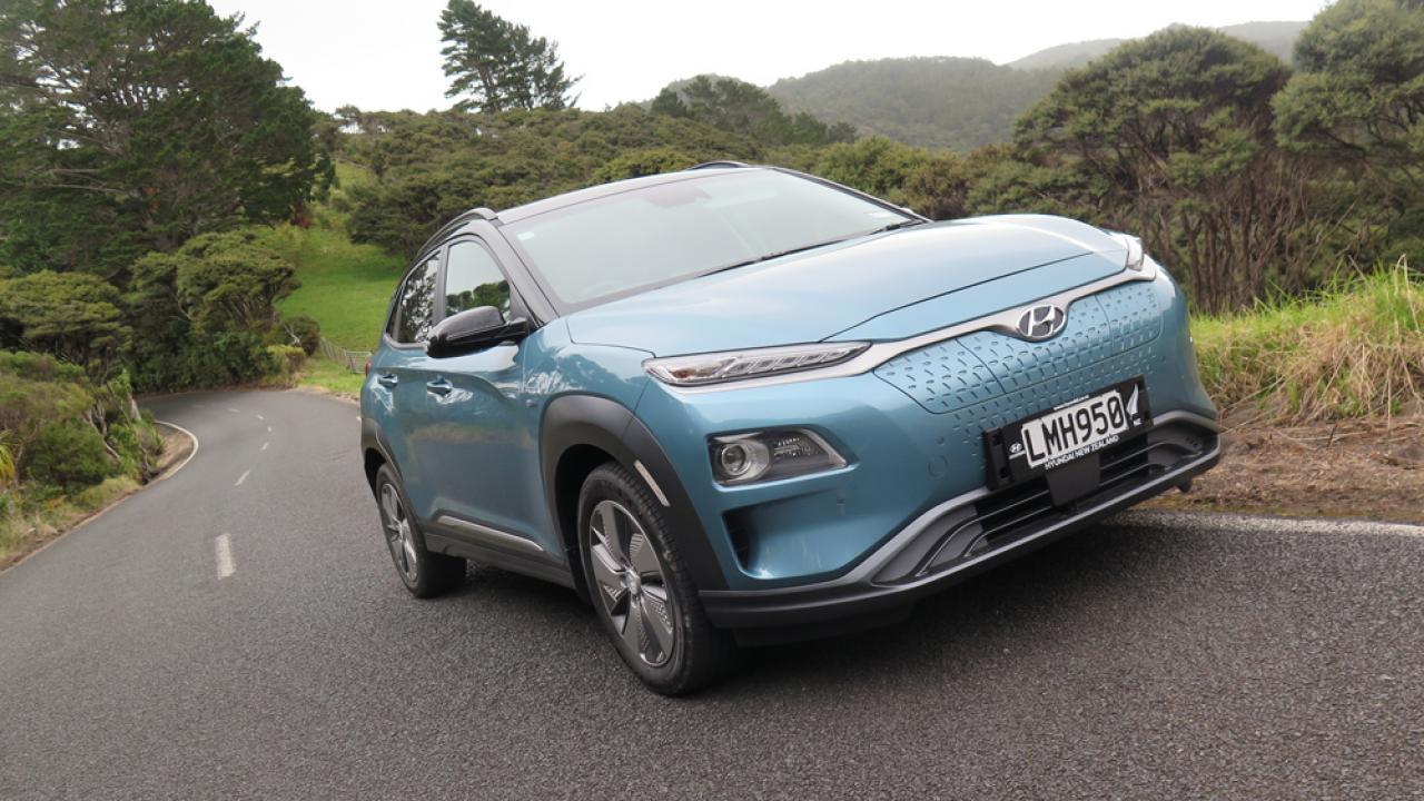 Hyundai Kona Ev 2018 Car Review Aa New Zealand