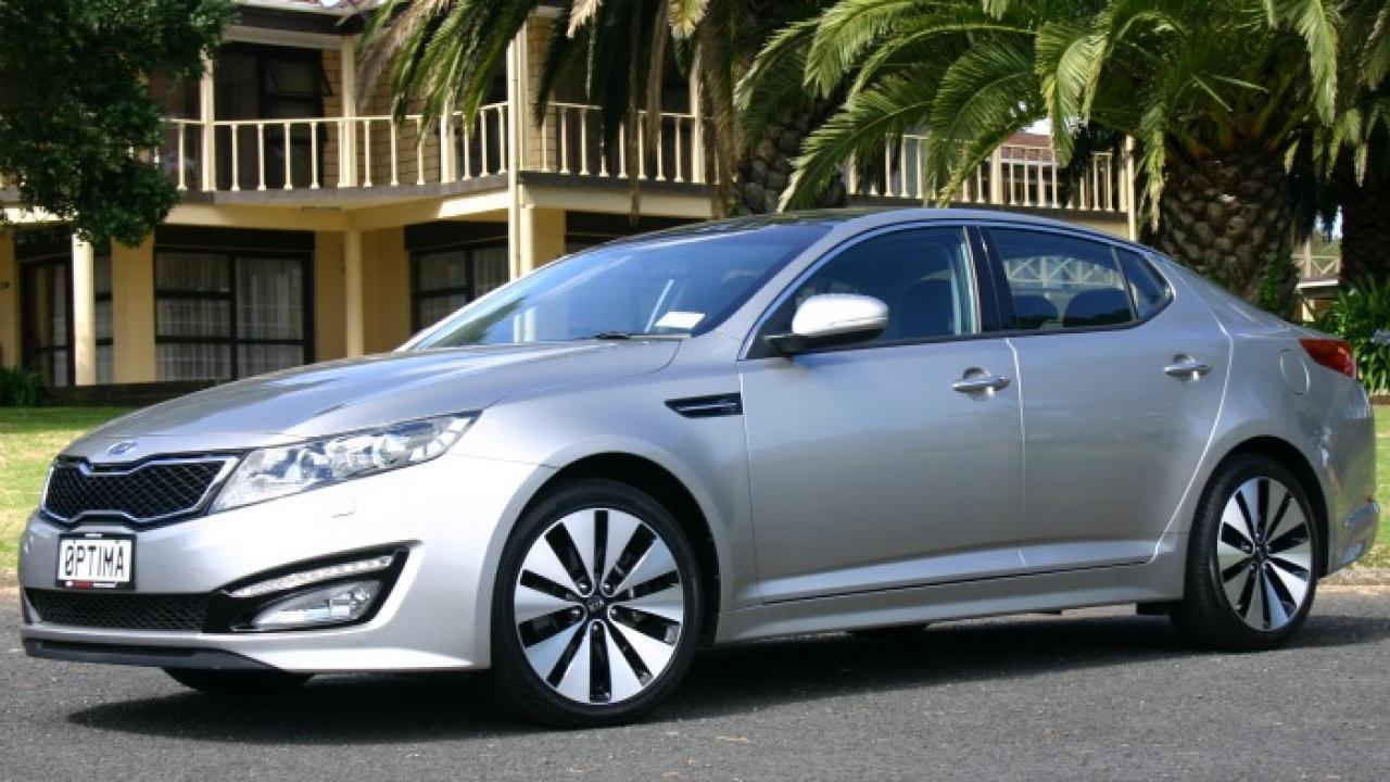 Kia Optima 2011 Car Review Aa New Zealand
