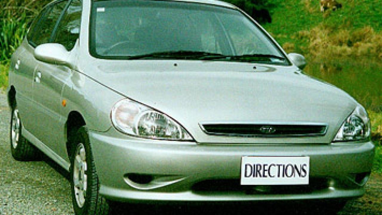 kia rio 2001 review