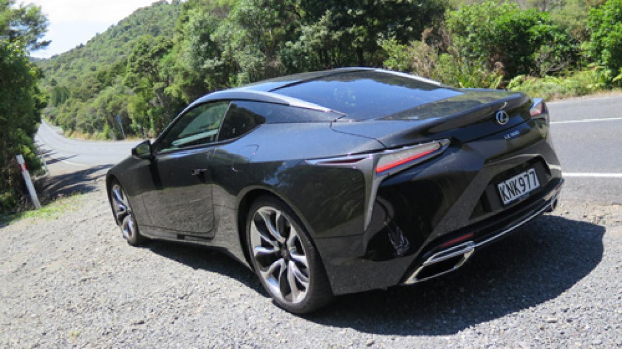 Lexus Lc500 2018 Car Review Aa New Zealand