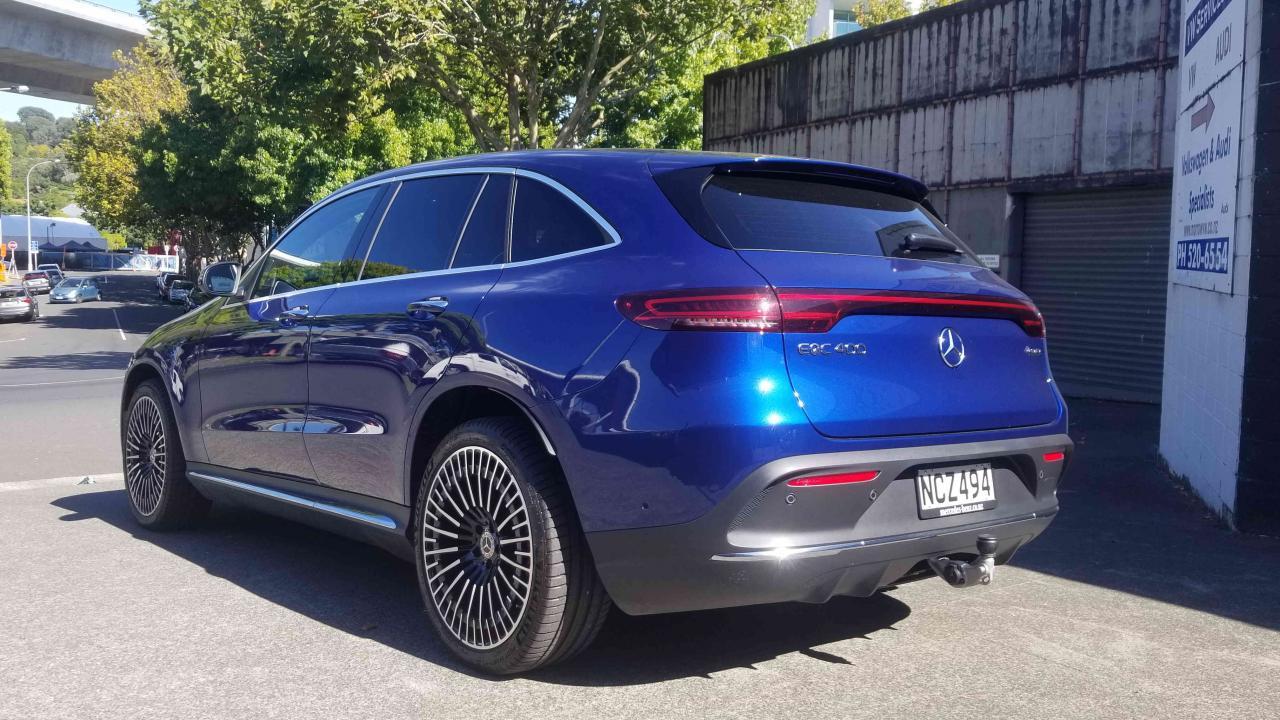 mercedes-benz eqc 2021 car review | aa new zealand