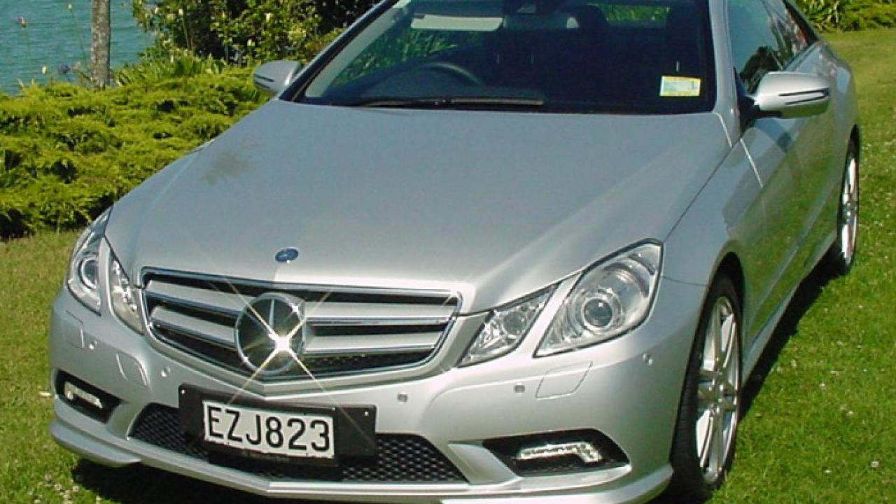Mercedes Benz E500 Coupe 2009 Car Review Aa New Zealand