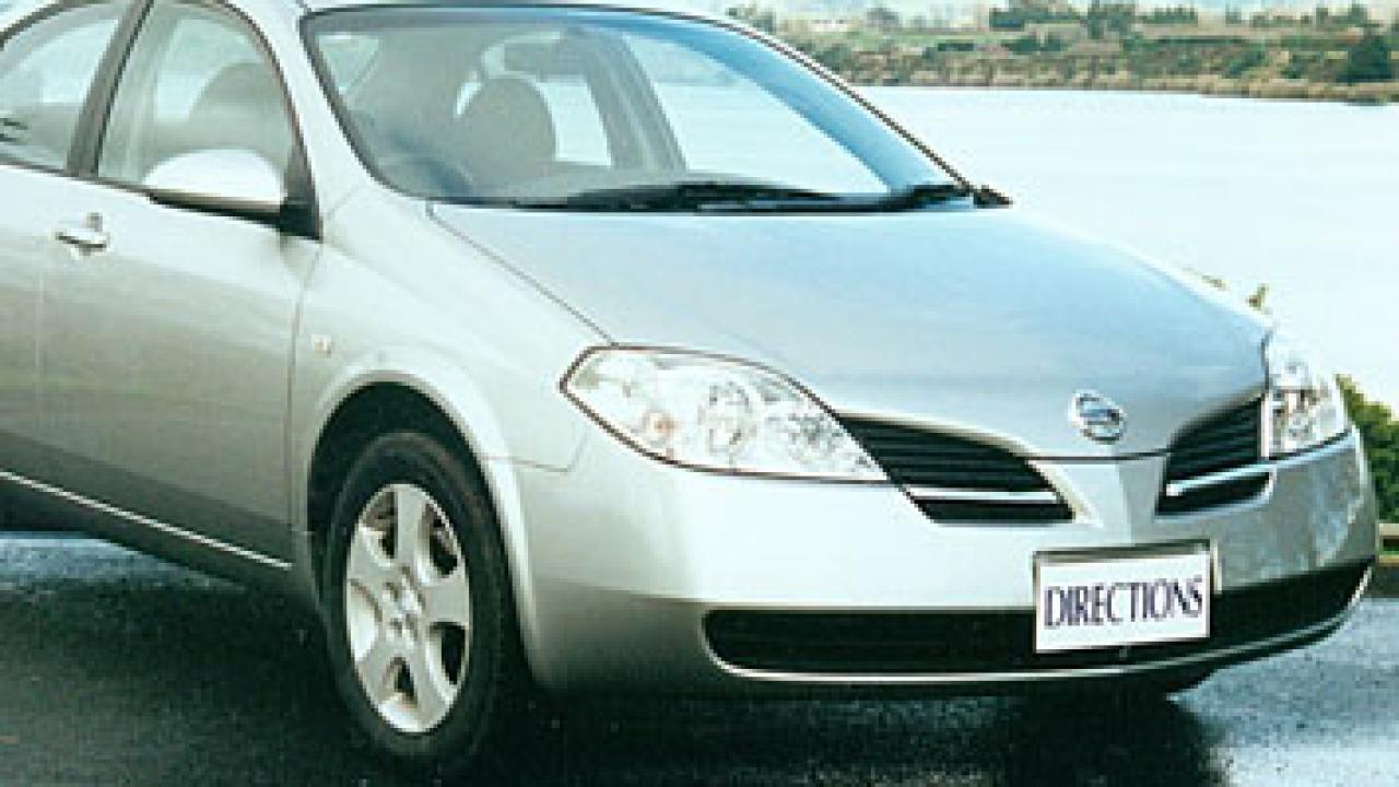 nissan primera 2002 car review aa new zealand. Black Bedroom Furniture Sets. Home Design Ideas