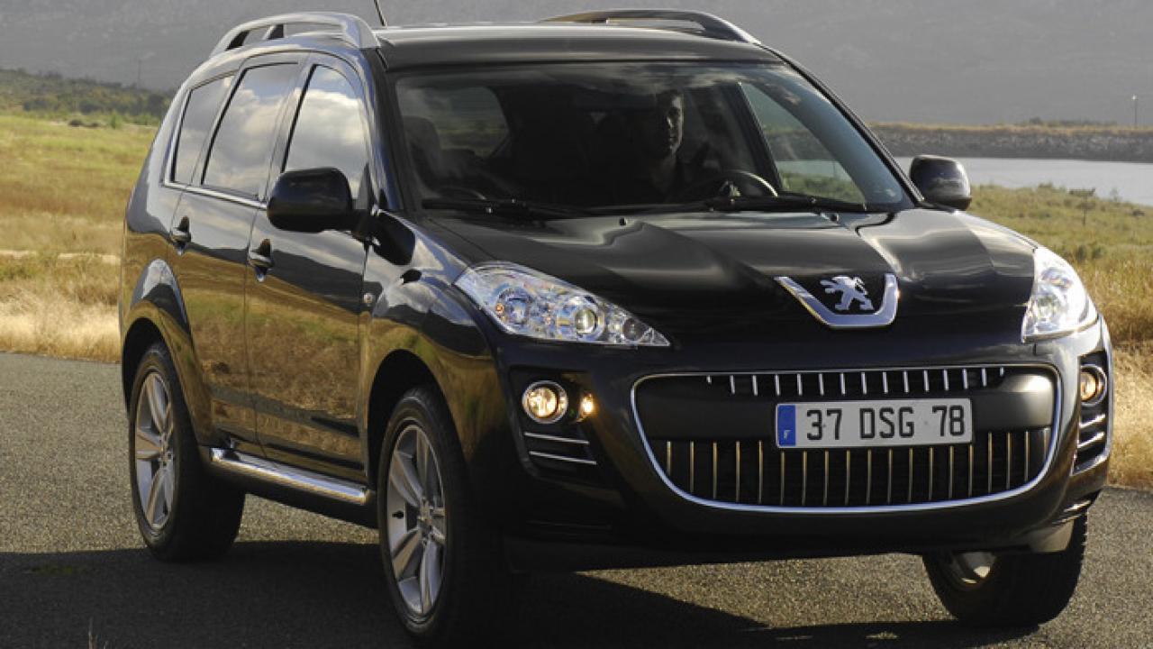 peugeot 4007 2010 car review | aa new zealand