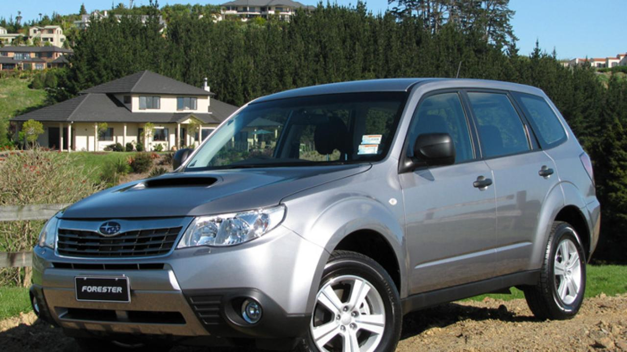 Subaru Legacy, Outback and Forester 2 0D 2009 Car Review