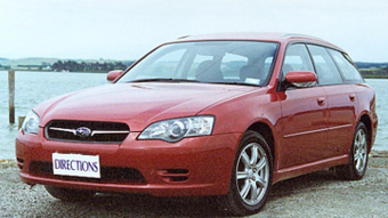 subaru legacy 2004 fuel consumption