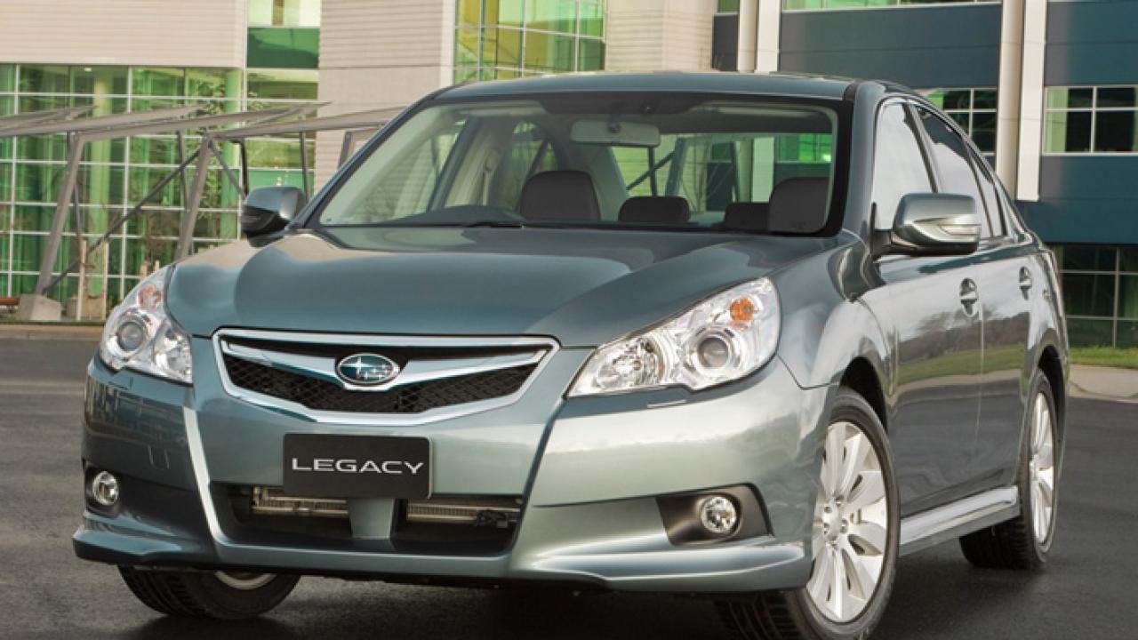 Subaru Legacy: 2.5 L non-turbo models