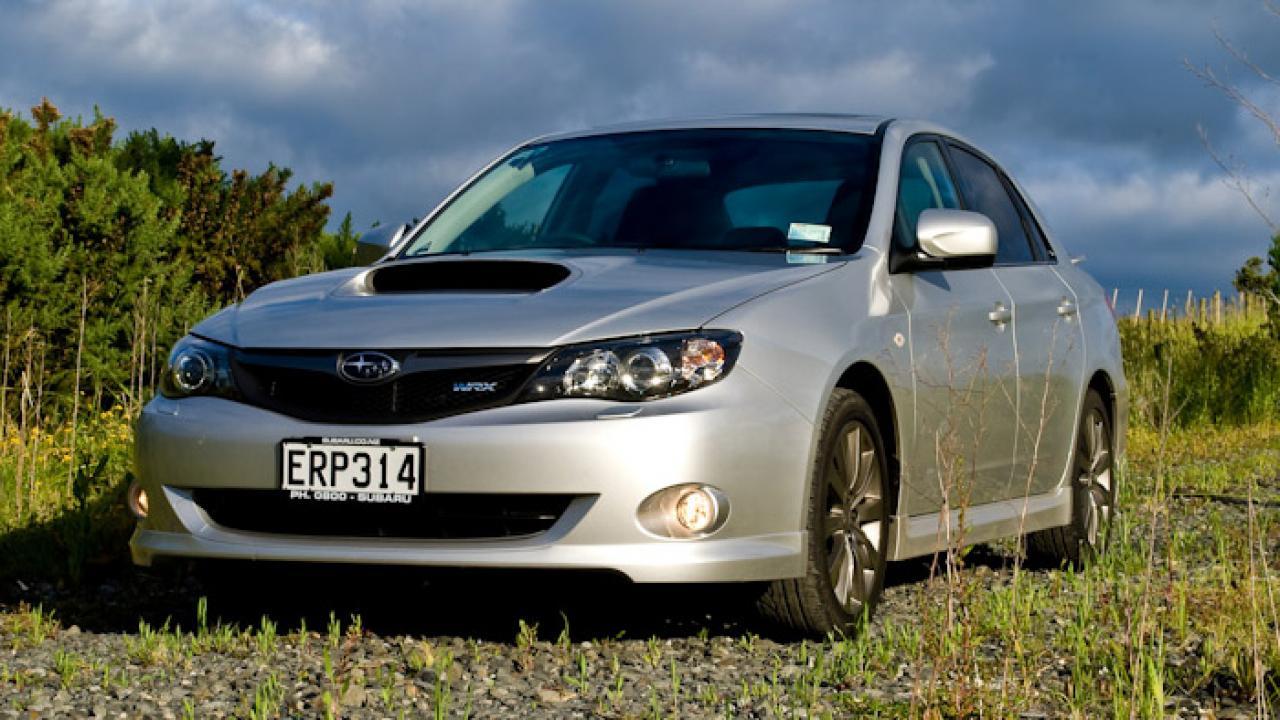 Subaru Wrx 2008 Car Review Aa New Zealand