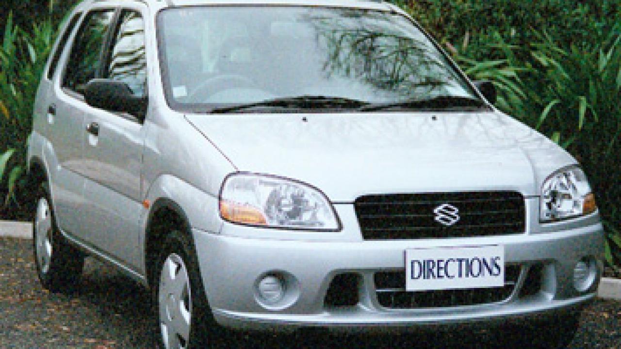 Suzuki Ignis 2001 Car Review Aa New Zealand