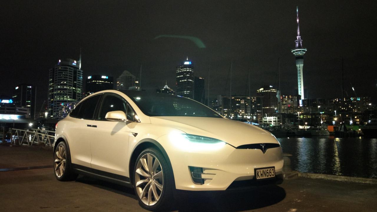 Tesla Model X 2017 Car Review Aa New Zealand