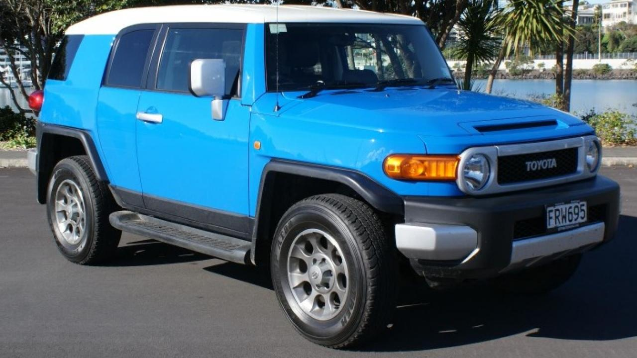 On The Black Top, The Toyota FJ Cruiser Is A Lively Performer, Itu0027s Soft  And Cruisy (no Pun Intended) And Around Town Is Comfortable And Refined.