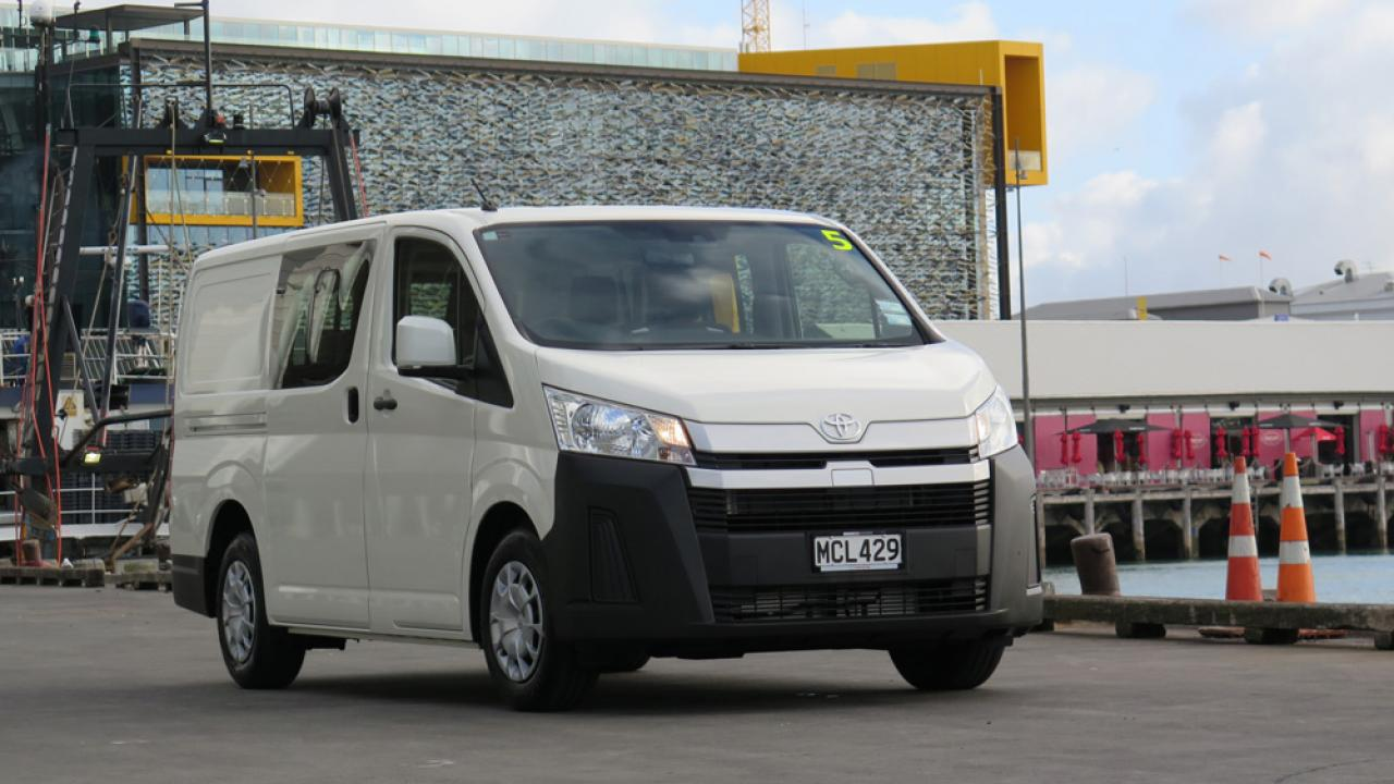vehicle launch the 2019 toyota hiace  aa new zealand