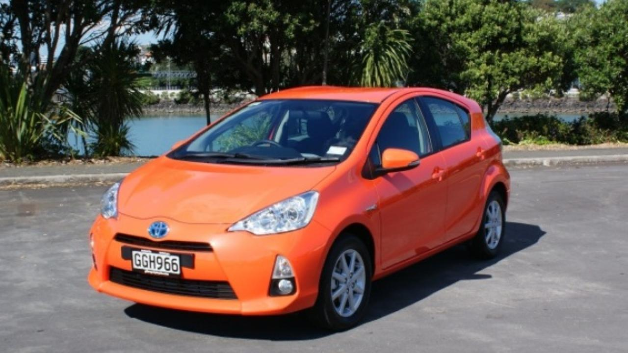 Toyota Prius C 2012 car review   AA New Zealand